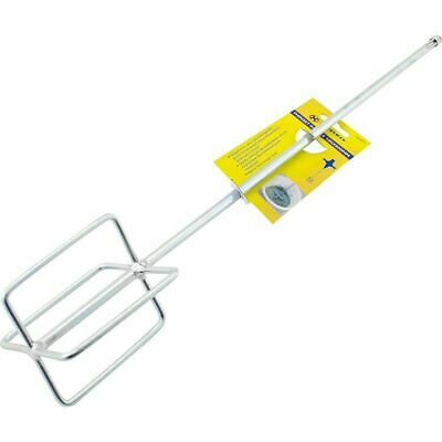 100 X 600mm Paint Mixer PAINT STIRRER PLASTER ADHESIVE WHISK HAND TOOL • 12.49£