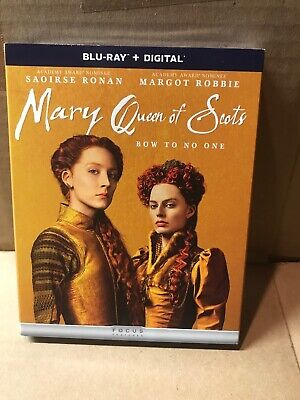$9 • Buy Mary Queen Of Scots Blu Ray (No Digital) Brand New In Wrap!