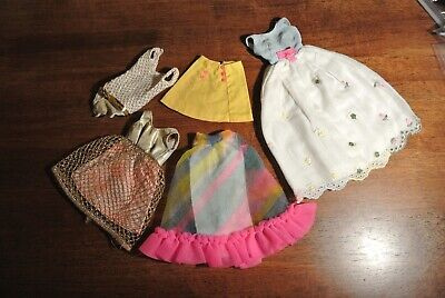 $ CDN15.22 • Buy Vintage Francie/Barbie Tagged Clothing Lot TLC All Have Issues