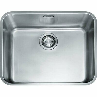 Franke Largo LAX 110 50-41 Undermounted Single Bowl Kitchen Sink Stainless Steel • 159£