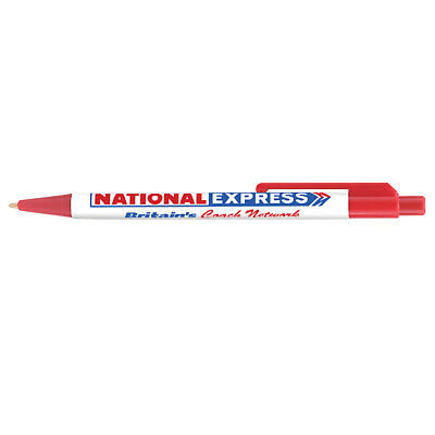 National Express Bus Coach Inspired Pen Brand New Nbc Bus Company • 2.09£