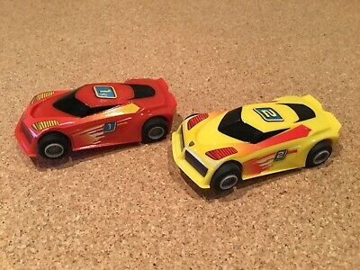 """Micro Scalextric 1:64  Cars.   """" Cars Have Magnatraction """" • 14.75£"""