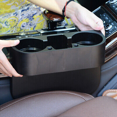 AU15.89 • Buy Multi-function Car Accessories Central Storage Box Drink Cup Holder Organizer