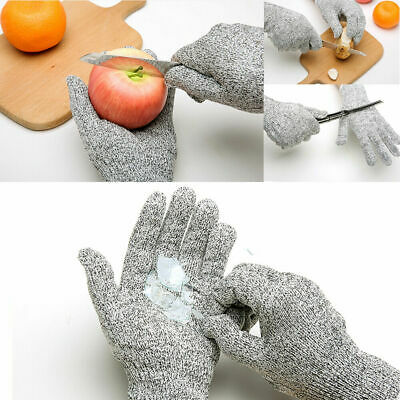 £3.99 • Buy 1 Pair Cut Resistant Level 5 Work Knife Safety Gloves Grip Protection Non Slip