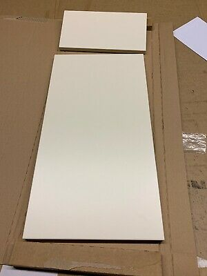 1 X Sandford  Ivory Style  Slab (B&Q)Kitchen Cabinet Door & Draw 300  X 715mm • 14.95£