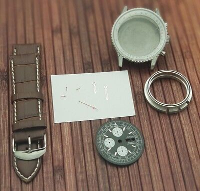 $129 • Buy Military Watch Kit For Eta Valjoux 7750 Swiss Made Automatic Movement
