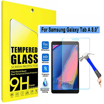 £3.95 • Buy TEMPERED GLASS Screen Protector For Samsung Galaxy Tab A 8.0 Inch T350 T290 T380
