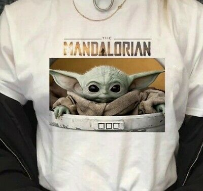 $15 • Buy The Mandalorian Baby Yoda T-Shirt Large BRAND NEW IN SEALED PACKAGE