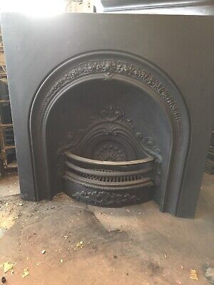 Victorian Style Cast Iron Arched Insert • 195£