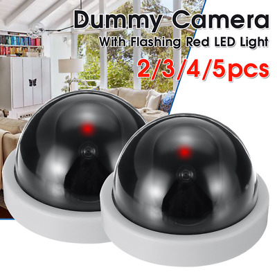 Top Quality  Dummy CCTV Dome Camera With IR LEDs That Light Up In Dark • 5.34£