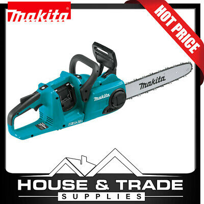 AU449 • Buy Makita Chain Saw Brushless Cordless 18V X2 (36V) Li‑Ion 14  XCU03 TOOL ONLY