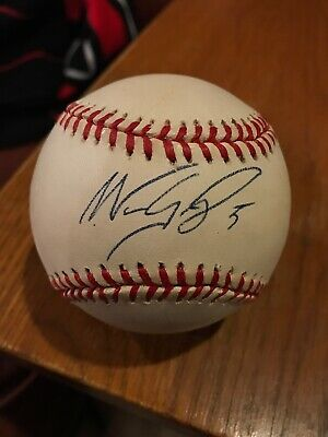 $ CDN39.63 • Buy Nomar Garciaparra  Autographed Official Major League Baseball  Boston Red Sox
