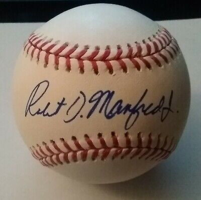 $ CDN26.45 • Buy Robert Manfred Jr Signed OMLB Baseball Autographed AUTO MLB Commissioner