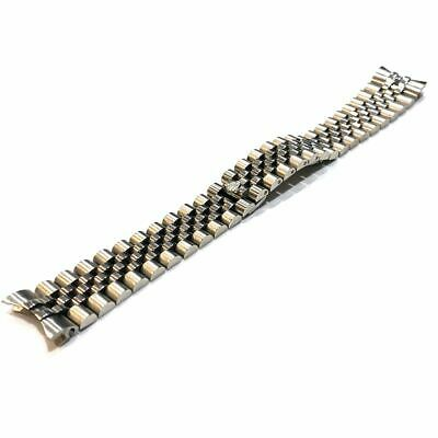 $ CDN73.17 • Buy 17mm 20mm Jubilee Watch Stainless Steel Bracelet Band Strap Fit Rolex