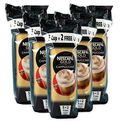 Nescafe Cappuccino Cup Drink 7s (Pack Of 5) • 10.99£