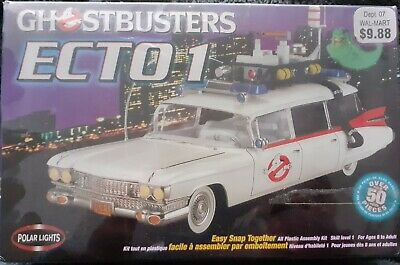 Ghostbusters Ecto 1 Car Model Kit (New Sealed) • 29.99£
