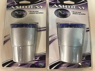 $11.99 • Buy 2-swivel Top Car/Truck Ash Tray Cup Holder Ashtray Open/close
