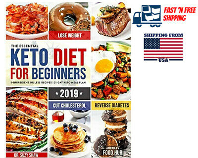 $11.39 • Buy Keto Diet For Beginners Quick & Easy Ketogenic Recipes 2019 Cookbook Lose Weight