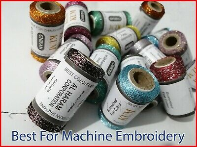 15 X Embroidery Spools Sewing Machine Threads (BROTHER, JANOME, GUTERMAN) • 9.99£