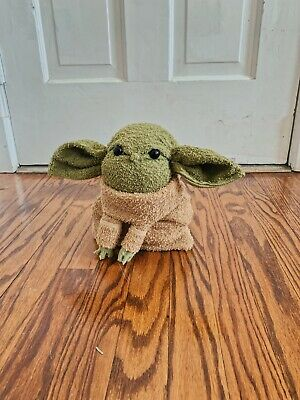 """$250 • Buy Very Cute Stand Up Baby Yoda Plush Toy New 8"""" By 7"""""""