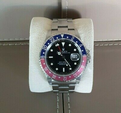 AU16950 • Buy Rolex GMT Master 16700 With Original Pepsi Bezel From 1997 Box And Papers