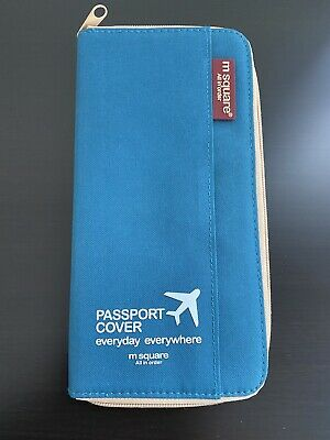 AU20 • Buy M Square Passport Cover Holder Wallet Case Boarding Card Organizer Pouch Travel