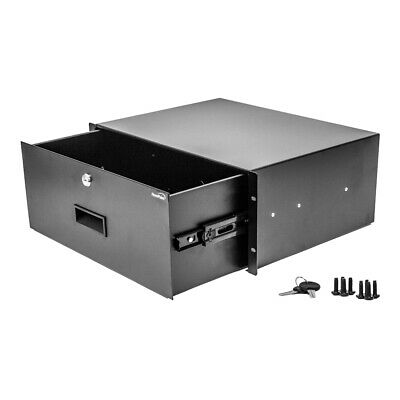 AU93.08 • Buy Rack Mount DJ 19  Rack Road Case Equipment Deep Drawer 4U 4 Space Locking