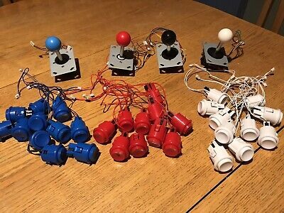 $19.99 • Buy Lot Of Arcade Buttons And Joysticks