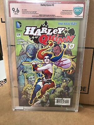 $ CDN157.59 • Buy Harley Quinn #0 New 52 Signed 4 Times CGC Graded 9.6