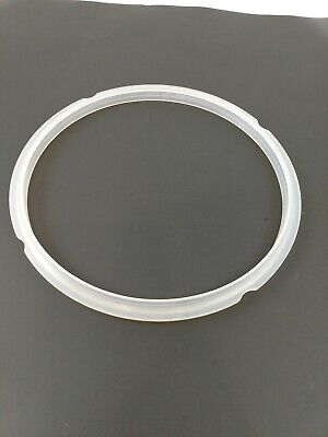 $10.90 • Buy Genuine Silicone Sealing Ring Clear Instant Pot 8 Quart Replacement Parts