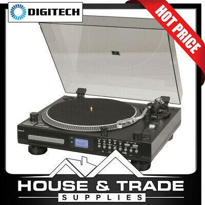 AU249 • Buy Digitech Turntable With CD Player & USB/SD Inc FM Radio Record Player GE4107