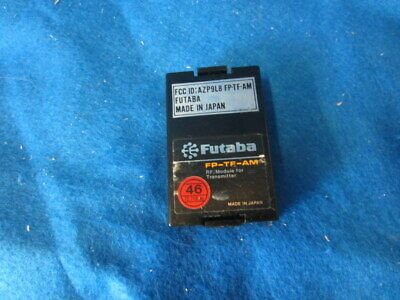 $7.95 • Buy FUTABA TRANSMITTER AM MODULE, FP-TF-AM CHANNEL 46, 72.710 MHz, USED