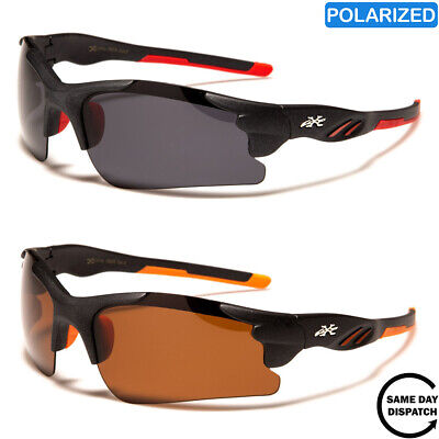 New Polarised Black XLoop Sport Running Wrap Mens Womens Unisex Sunglasses UV400 • 14.99£