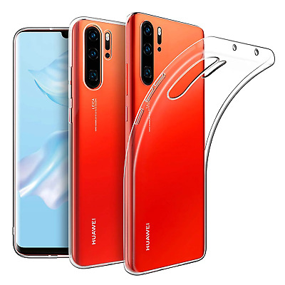 £1.99 • Buy For Huawei P20 P30 LITE P30 PRO Case Clear TPU Rubber Jelly Silicone Gel Cover