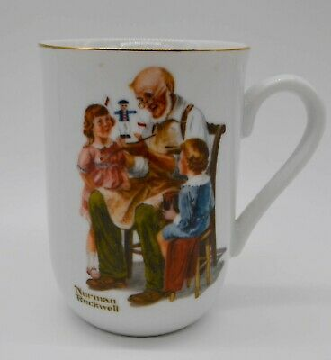 $ CDN13.79 • Buy 1982 Norman Rockwell Museum Collections Coffee Cup/Mug - *The Toymaker*