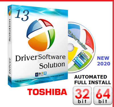 TOSHIBA Satellite Drivers Software CD DVD Windows 10 8 7 XP VISTA Install UK • 1.89£