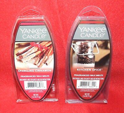 YANKEE CANDLE Frangranced Wax Melts - NEW - Pick Your Scent • 5.26£