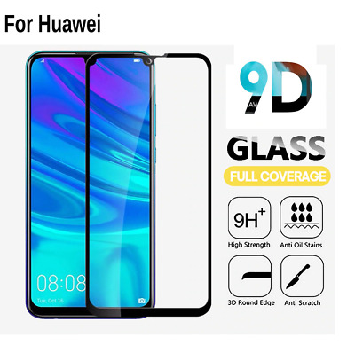 £1.99 • Buy For Huawei P20 P30 Lite Pro P SMART Full Cover Tempered Glass Screen Protector