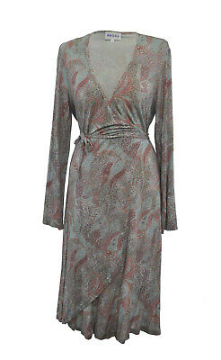 ** BRORA ** Lovely Wrap Dress * Muted Shades ** UK 14 **  • 28.99£