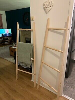 WOODEN TOWEL LADDER Made To Order • 30£