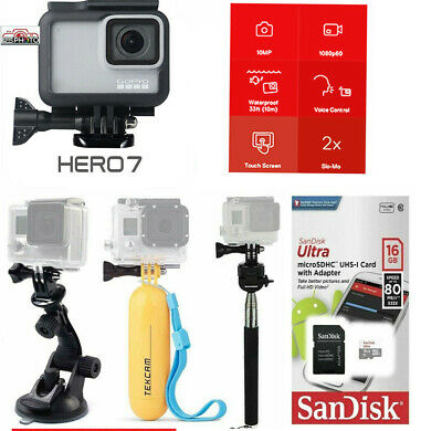 $ CDN267.97 • Buy GoPro HERO7 WHITE Edition Touch-Screen Camera  With Sports Accessory Bundle