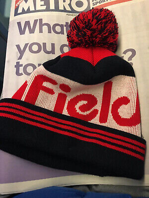 Penfield Sanford Bobble Hat Red White Worn Once • 18£