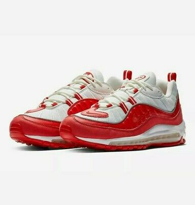 """$107 • Buy Nike Air Max 98 """"University Red"""" Running Shoes 640744 602 Men's Size 14"""