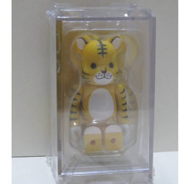 $112 • Buy BE@RBRICK Limited Zodiac Tiger 100% Bearbrick Medicom Toy Fig. With Display Case