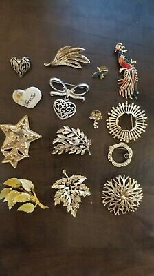 $ CDN13.99 • Buy Vintage Lot Of Brooches, Different Style