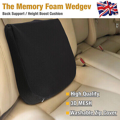 £12.89 • Buy Memory Foam Wedge-shaped Seat Cushion Lower Basic Posture Supports Car Office