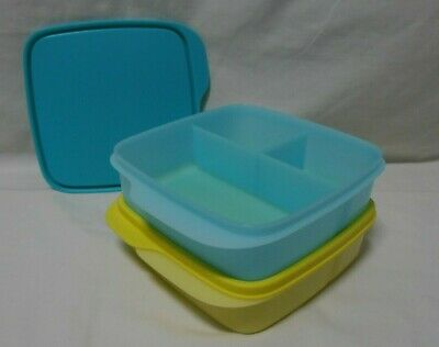AU34.95 • Buy BNIP TUPPERWARE SMALL DIVIDED LUNCH BOX Set Of 2