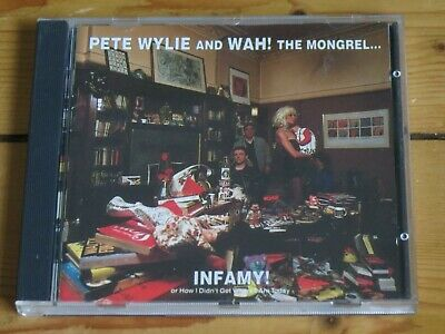 Pete WYLIE & WAH! The Mongrel: Infamy CD (with Sinful Extended 12  Remix) • 13£