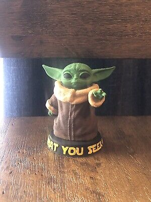 $15 • Buy Baby Yoda Figurine, Handpainted