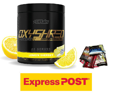AU79.95 • Buy EHPlabs Oxyshred Hardcore Thermo Fatburner Oxy Shred  Limited Edition Stronger.